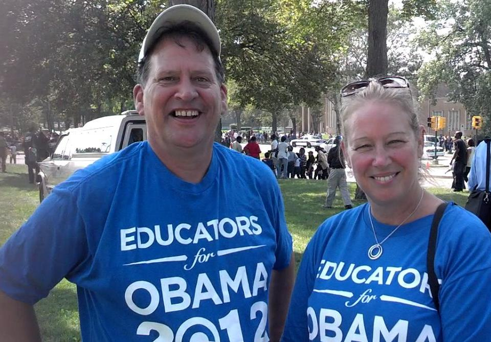 Educators for Obama in all the right places